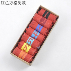 Sports Socks  red(BOX)