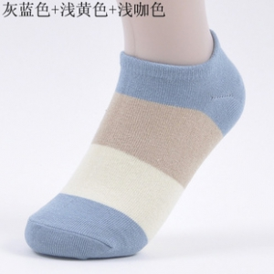 Cotton strips socks