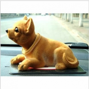 Dog Design car ornaments