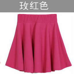 Candy Coloured Flare pleated skirt