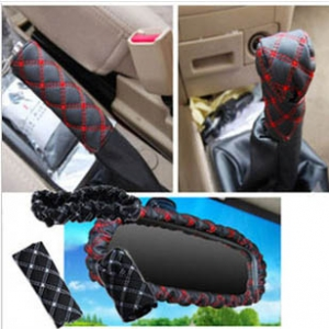 3-piece sets of safety gear handbrake covers