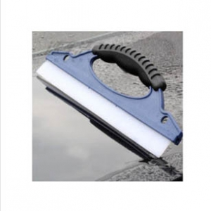 Silicone glass cleaner wiper blade