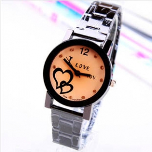 161708  Trendy design Steel Watch