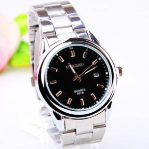 Defective  Simple design steel watch