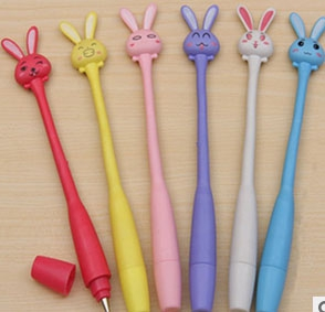 Cute Rabbit Bendable Pen