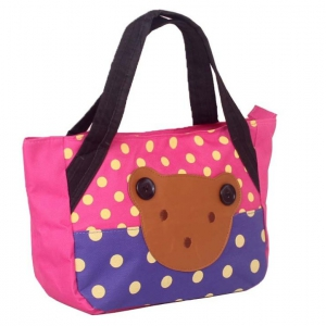 Ladies cartoon printed mini hand bag