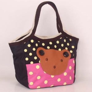 Waterproof cartoon ladies lunch bag