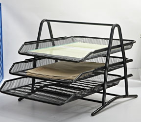 3 Tier Metal Document Holder
