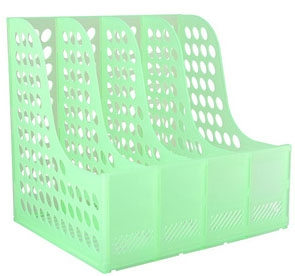 3 Compartments Plastic File Holder ZS-394S