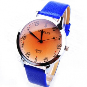 160020 Casual  leather watch