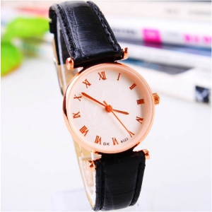 162309  Fashionable Casual leather watch