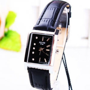 165304 Casual rectangle shaped belt watch