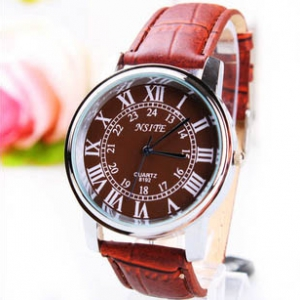 165403  Classic Casual leather watch