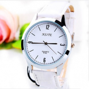 165395  Casual leather watch