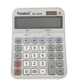 PA-6640  Fashion Classic Solar Calculator ,Wide Screen