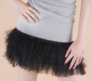 Mini Laced Tutu Skirt