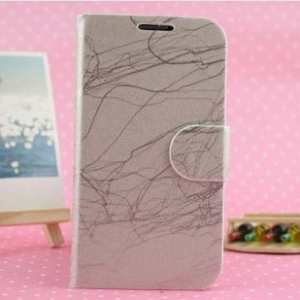 Samsung Galaxy S4   roots grain leather phone flip cover