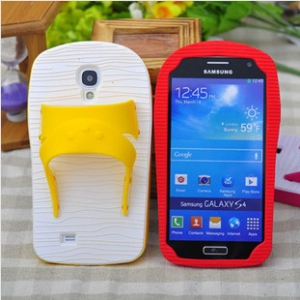 Samsung GALAXY S4 silicone slippers phone casing