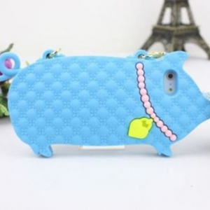 iphone 5 / 5S Pig Silicone Casing