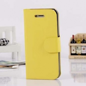 Iphone 5/5S leather flip cover