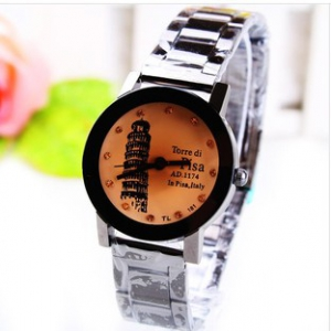 166357  Trendy design Steel Watch