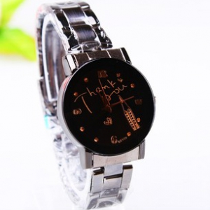 162956 Casual steel watch