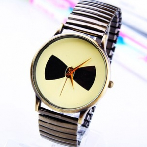 161669 Bow fashion watch