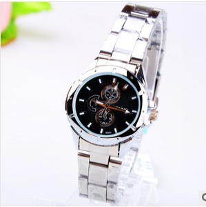164379 Casual steel watch