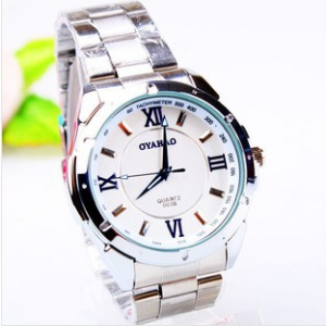 163429 Casual steel watch