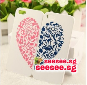 Iphone5/5s casing 2pc sets