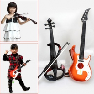 Simulation Electric Violin +guitar for kids