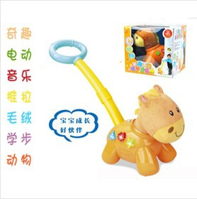 Musical animal Baby walker trainer