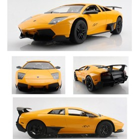 1:12 Lamborghini six-channel remote control simulation car with 4 lights