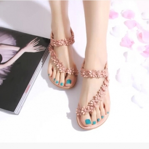 Open Toe Sandals Pink