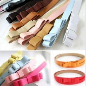 Trendy Fashion Ribbon belts