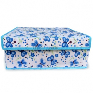 Printed Flodable Storage Oraganizer With Hard Case Cover