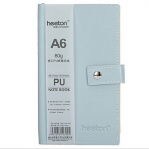 Button PU Skin Notebook A48-349