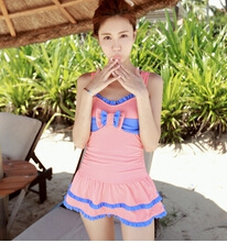 Shoulder straps swimwear