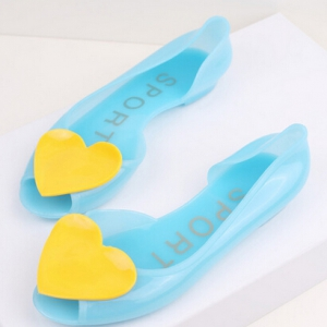 Jelly flats with heart