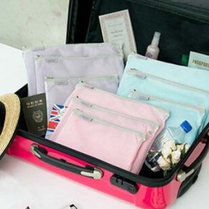 3 pcs travel pouch set
