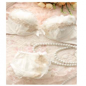 Girl lace bra set