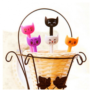 Kitty Design Pen With Bendable Body