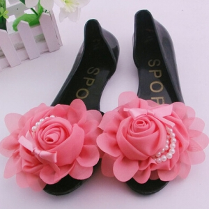 Jelly flats with rose