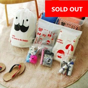Storage bag set for travel  (8pcs)