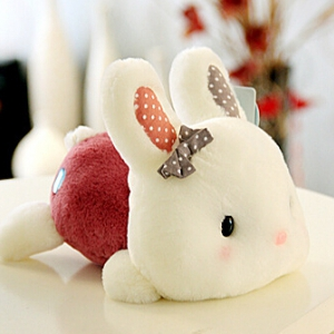 Cute rabbit doll 22cm Random design