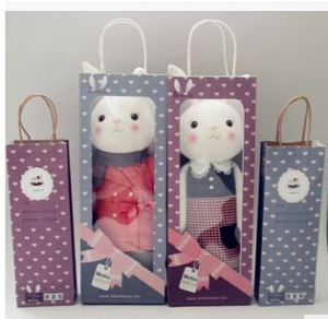 Rabbit doll gift 30cm (random design)