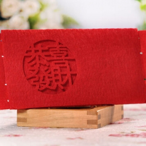 Hongbao/red packet 10pcs 9*19cm