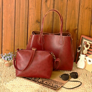 Classic shoulder bag set