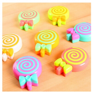 Lollipop Contact lenses box 9*7cm
