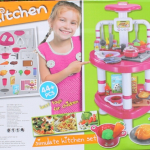 Kitchen cooking fun playset